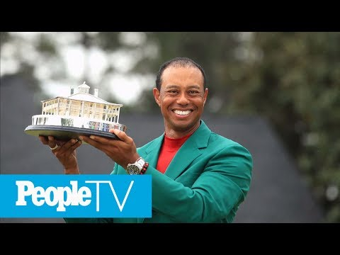 Tiger Woods Says 2019 Masters Victory Is Going To 'Take A Little Bit Of Time To Sink In' | PeopleTV