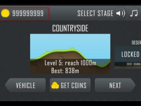 hill climb racing coins hack root
