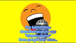 Andaalalo Mahodayam karaoke Jagadekaveerudu Athiloka Sundari Karaoke
