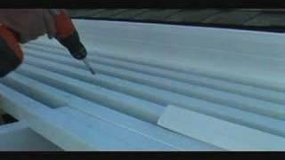 Alumawood Arbor Lattice Tube Installation