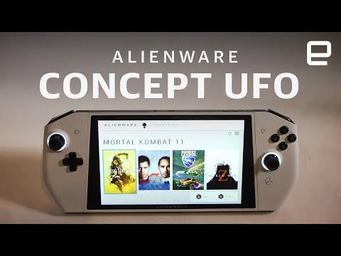 Dell concept Alienware UFO at CES 2020