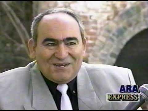 XPRESS TV Show - February 1998 Interview With Hovhannes Atkozyan (Uzbek)