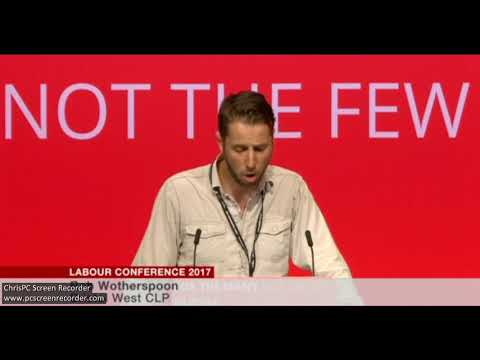 Postal Worker talks about strike action at Labour Conference