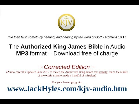 King James Bible - Audio Download Link