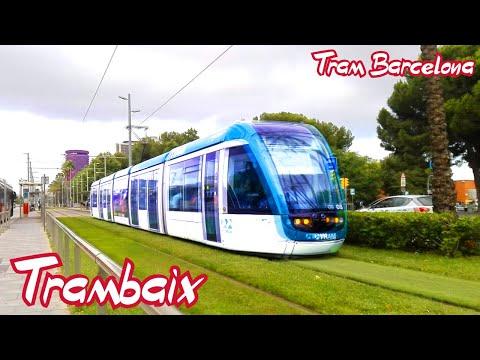 TRAM Barcelona : Trambaix T1 - T2 - T3 ( Alstom Citadis 302 )