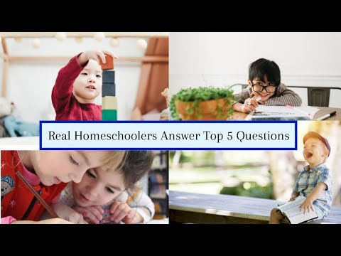 Homeschool advice for new homeschoolers || 5 Questions collaboration