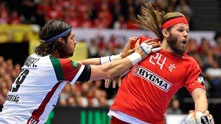 HANDBALL DENMARK - HUNGARY. IHF World Men