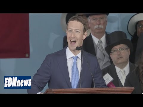 Facebook Founder Mark Zuckerberg Commencement Address   Harvard Commencement 2017