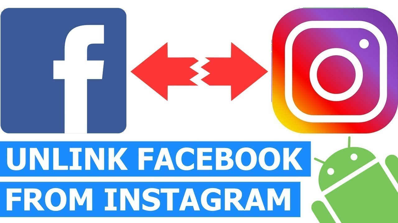 how to unlink instagram from facebook | how to unlink facebook from instagram | unlink instagram