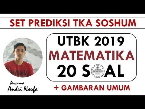 UTBK 2019 I TKA SOSHUM I MATEMATIKA