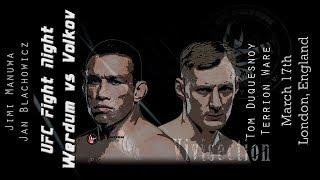 The MMA Vivisection - UFC London: Werdum vs. Volkov picks, odds, & analysis