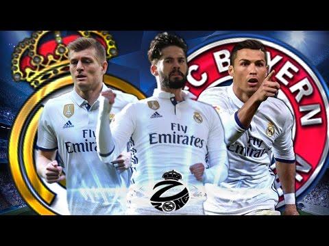 ИСКО ПОСАДИЛ БЭЙЛА НА СКАМЕЙКУ   Реал Мадрид - Бавария