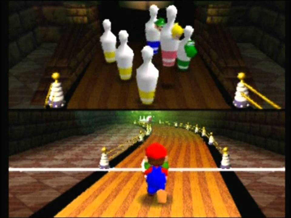 mario party 1 chaos bowling bowl over youtube