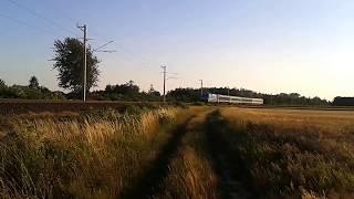 470 002 Vizes VB mozdony robog Csorna felé az utolsó IC-vel.