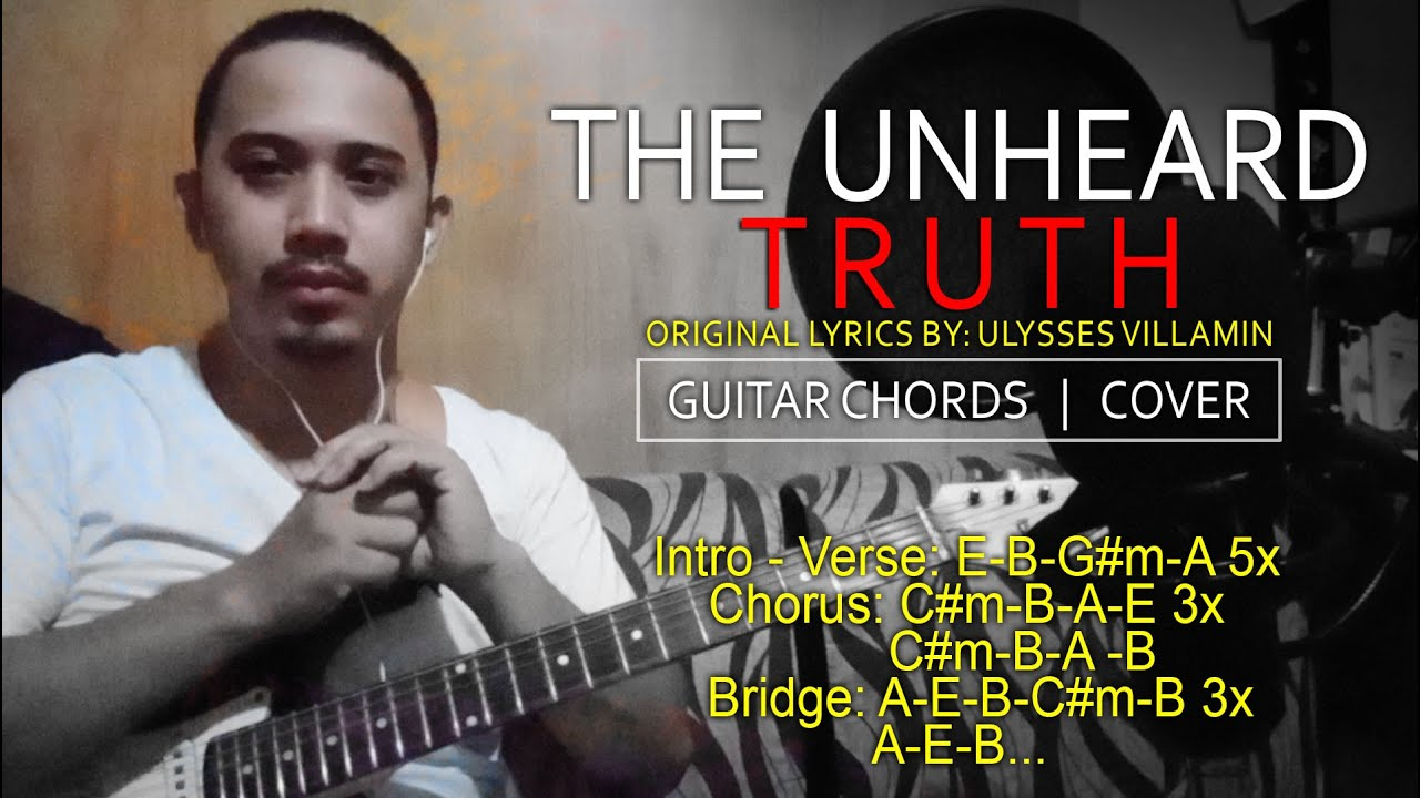 Download THE UNHEARD TRUTH SONG | GUITAR CHORDS COVER