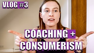 COACHING AGAINST CONSUMERISM || What is performance mindset coaching? NLP Trainer's Training Day 3