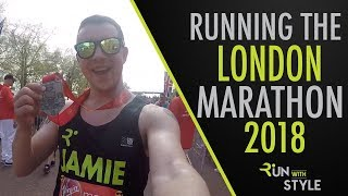 Running The London Marathon 2018 | Hottest London Marathon