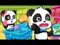 Baby Panda's Supermarket Shopping | Kids Grocery Shopping | BabyBus Cartoon