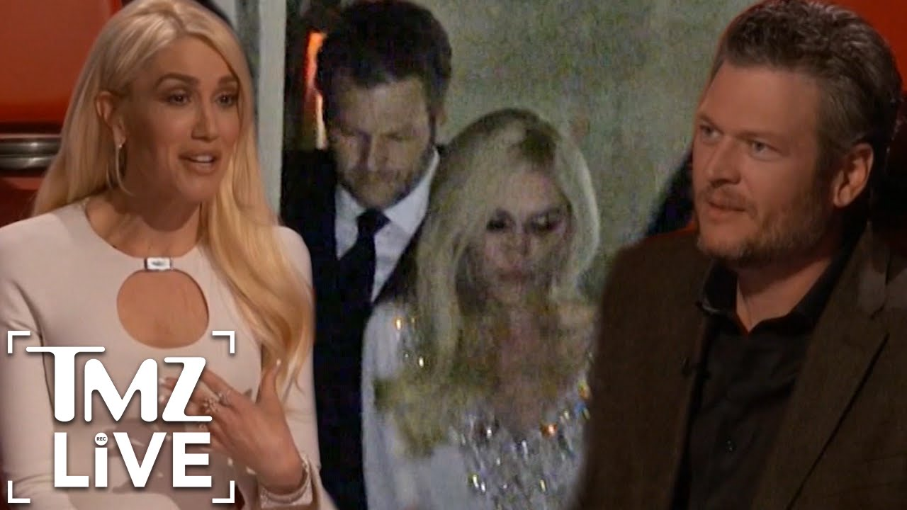 Blake Shelton, Gwen Stefani get cutesy after engagement news