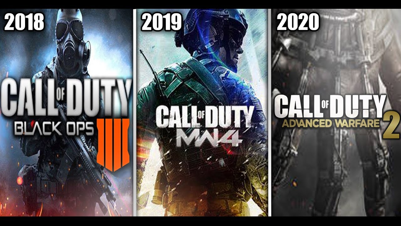 New Call Of Duty 2020.Call Of Duty 2018 2019 2020