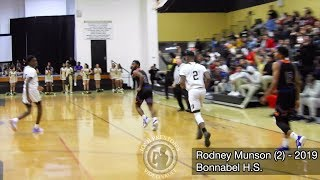 Landry-Walker at Bonnabel - Rodney Munson puts up 23 points in battle for top spot in District 8-5A