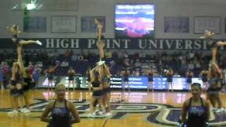 High Point University Cheerleading 2010