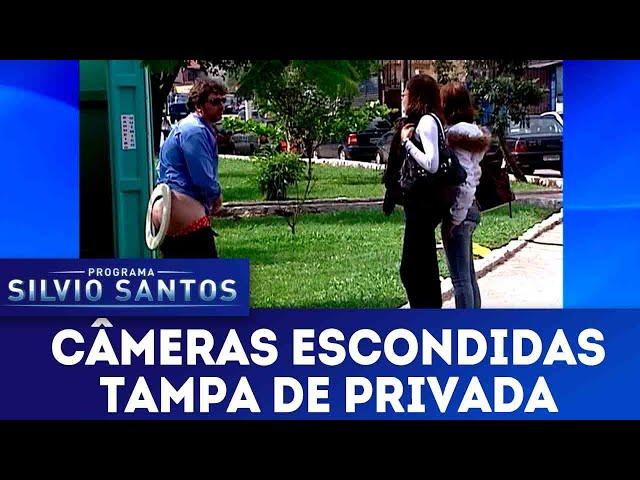 Tampa da Privada | Câmeras Escondidas (17/02/19)