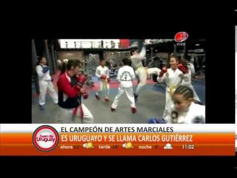 Carlos Gutierrez - Campeon de Taekwondo (1-octubre-2014).