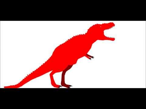 PDW   Saurophaganax Maximus vs Albertosaurus Sarcophagus