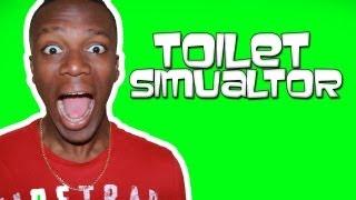 KSIOlajidebt Plays | Toilet Simulator