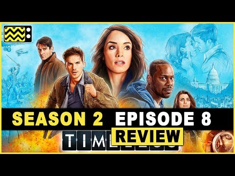 Timeless Season 2 Episode 8 Review w/ Karen David | AfterBuzz TV