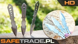 Throwing Knives United Cutlery Lightning Bolt Triple Set Noże do rzucania UC1255 | www.safetrade.pl