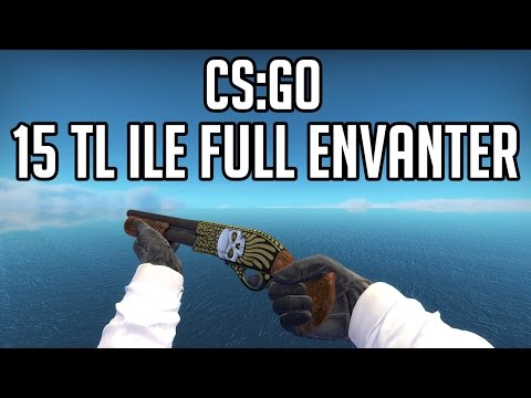 CS:GO 15 TL ENVANTER DİZME