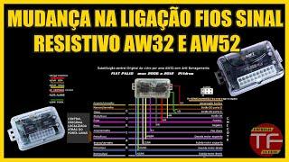 Mudanças na  ligação do módulo Aw32 e Aw52 para botão sinal resistivo screenshot 5