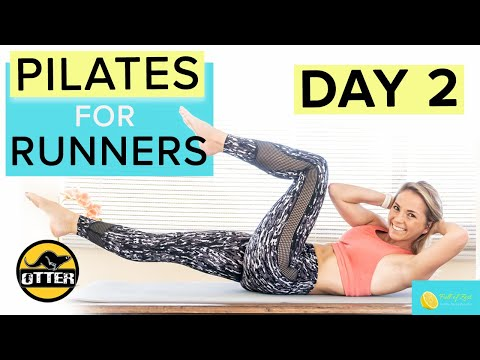 Pilates for Runners The Otter Workout Series Day 2