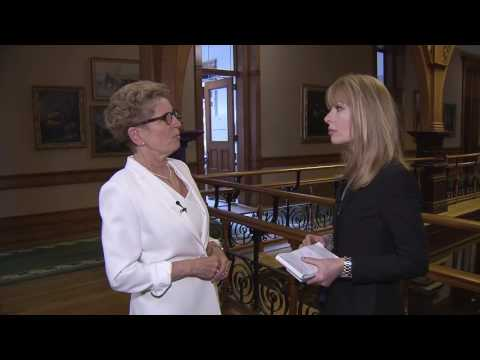 Premier Wynne on the Liberal's move to increase the minimum wage