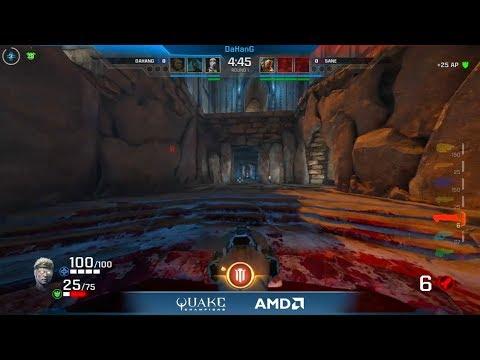 Quake Champions - DaHanG vs sane @ World Championships NA Regional Finals (Round 1)