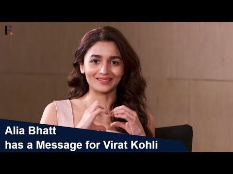 Alia Bhatt has a message for Virat Kohli | Celebrity DMs | SHOWSHA
