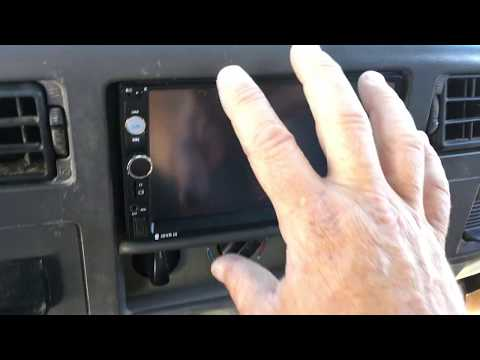 E99 F-350 Double Din DVD Player/  Car Stereo Install Notes