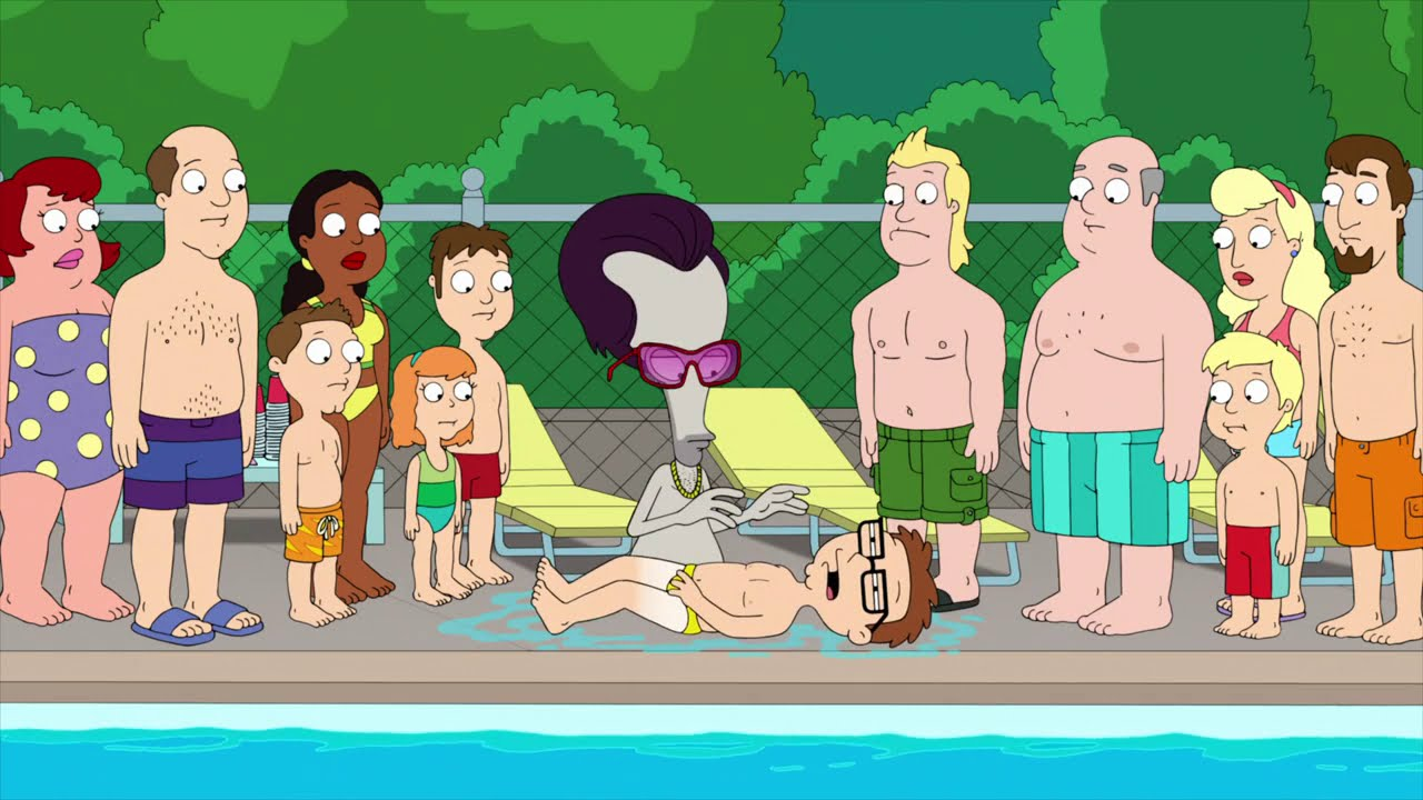American Dad - Steve making his dive - YouTube