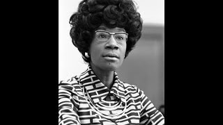 Shirley Chisholm speaking at UCLA 5/22/1972