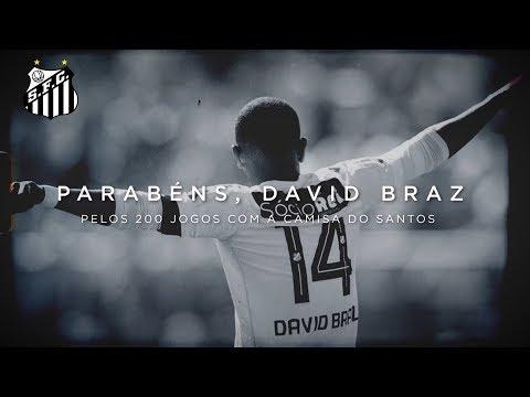 Veja o vídeo que fez David Braz se emocionar