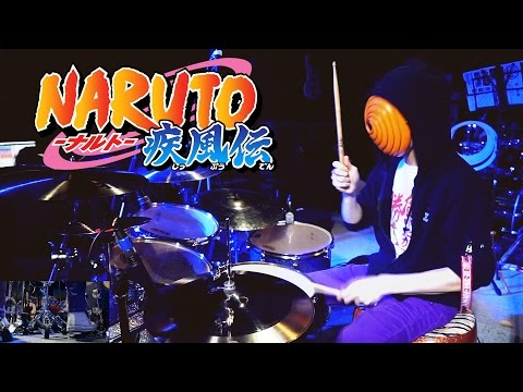 NARUTO 疾風伝 - OP20 (Last OP) Kara no Kokoro【Drum Cover】*sheet music