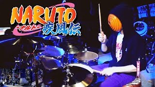 NARUTO 疾風伝 - OP20 (Last OP) Kara No Kokoro【Drum Cover】*sheet Music