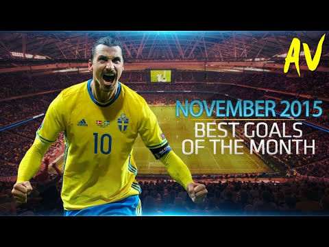 THE BEST GOALS OF NOVEMBER 2015