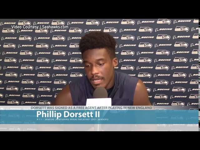 Phillip Dorsett on His Role with Seahawks 2020-08-21
