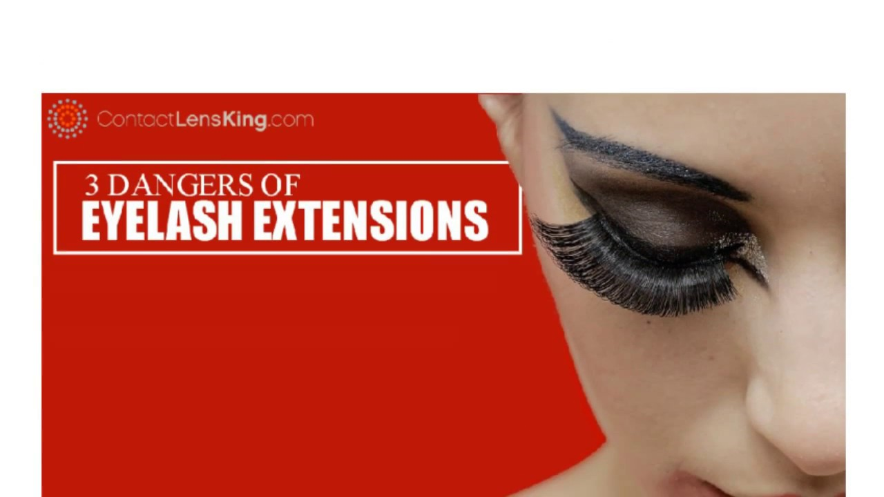 Dangers Of Eyelash Extensions Youtube