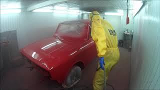 Полная покраска автомобиля. Полиуретановая краска.