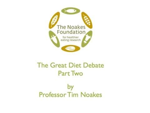 The Great Diet Debate - Part 2