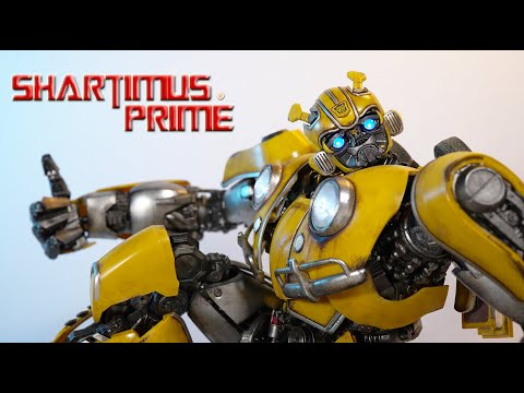 Threezero 3A Transformers Bumblebee PREMIUM Collectible Movie Action Figure Review